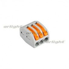 Клемма 222-413 (3 провода, 2.5-4мм)