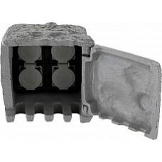 Блок розеток наземный Pietra 1 37001-4