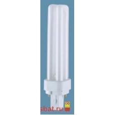 Лампа КЛЛ 13вт Dulux D 13/840 2p G24d-1 Osram