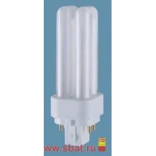 Лампа КЛЛ 18вт Dulux D 18/840 2p G24d-2 Osram