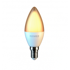 Remez  лампа солнечного света 7W 3000К E14 CRI97 на фиолетовых светодиодах по технологии  SunLike