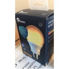 Remez  лампа солнечного света 9W 3000К E27 CRI97 на фиолетовых светодиодах по технологии  SunLike