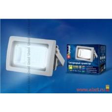 Uniel прожектор св/д 10W(850lm) 6500K 6K алюминий/серый ULF-S04-10W/DW IP65