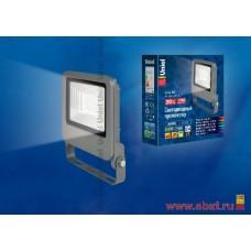 ULF-F17-20W/NW IP65 195-240В SILVER Прожектор светодиодный. Белый свет (4000K). Корпус серебристый.