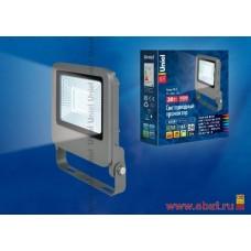 ULF-F17-30W/DW IP65 195-240В SILVER Прожектор светодиодный. Дневной свет (6500K). Корпус серебристый