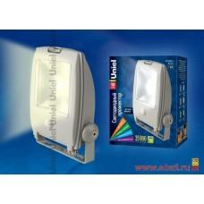 Uniel прожектор св/д 10W(650lm) 2700K 2K с датч. движения, алюминий/серый ULF-S22-10W/WW SENSOR IP65
