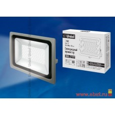 ULF-F16-200W/DW IP65 185-240В SILVER Прожектор светодиодный. Дневной свет (6500K). Корпус серебристы